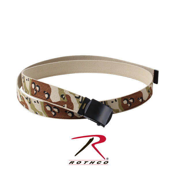 Camo Reversible Web Belt - Delta Survivalist