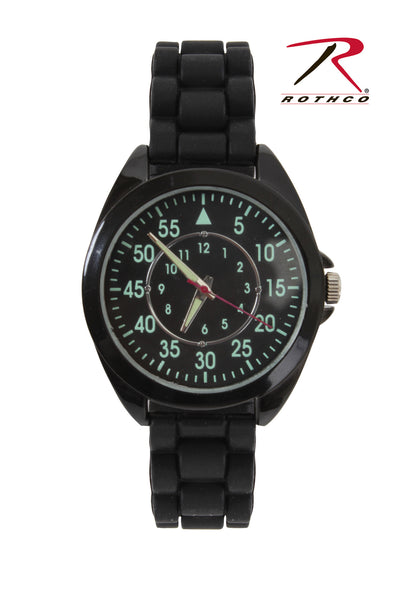 Military Style Watch Silicone Strap
