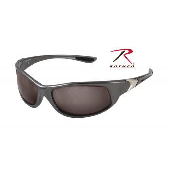 0.25 ACP Sunglasses - Gray Frame - Smoke Lens