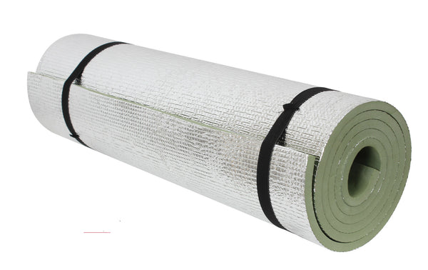 Thermal Reflective Od Sleeping Pad W/ Ties - Delta Survivalist