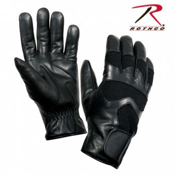 Cold Weather Leather Shooting Gloves - Delta Survivalist