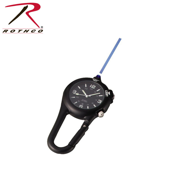 Clip Watch with LED Light - Delta Survivalist