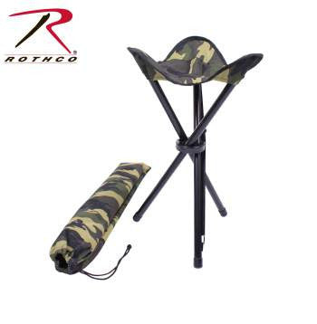 Collapsible Stool With Carry Strap - Delta Survivalist