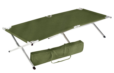 G.I. Type Oversized Folding Cot - Delta Survivalist