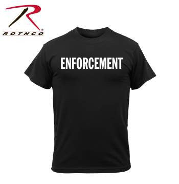 2-Sided Enforcement T-Shirt - Delta Survivalist