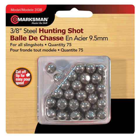 3/8'' Steel Shot - Delta Survivalist