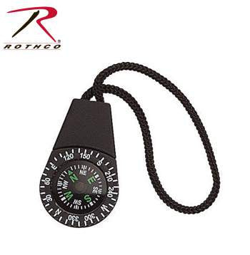 Zipper Pull Compass - Delta Survivalist