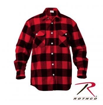 Extra Heavyweight Buffalo Plaid Flannel Shirts