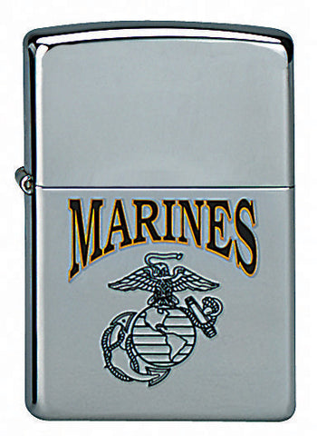 Marine Globe & Anchor Zippo Lighter - Delta Survivalist