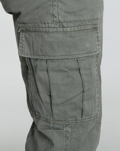 Vintage 6-Pocket Flat Front Fatigue Pants - Delta Survivalist