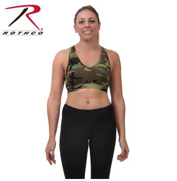 Camo Sports Bra - Delta Survivalist