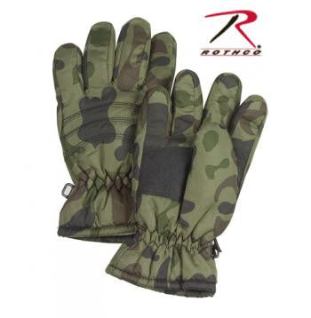Kid's Camo Thermoblock Insulated Gloves