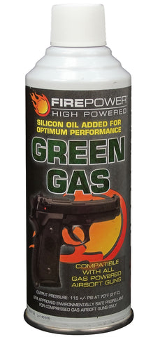 Green Gas Airsoft Propellant - Delta Survivalist