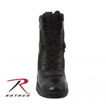 "Forced Entry 8"" Tactical Boot With Side Zipper - Delta Survivalist"