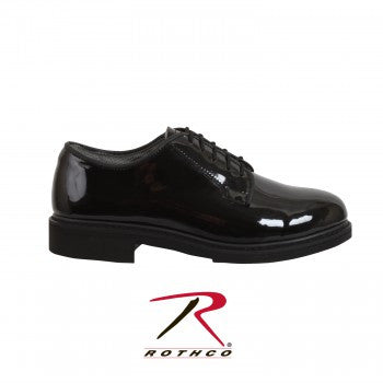 Uniform Hi-Gloss Oxford Dress Shoe - Delta Survivalist