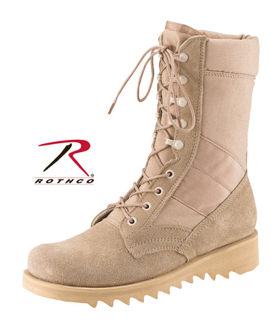 G.I. Type Ripple Sole Desert Tan Jungle Boots - Delta Survivalist