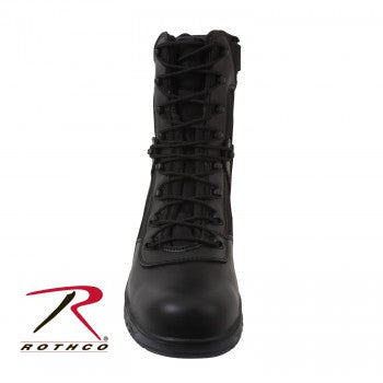 8 Inch Forced Entry Tactical Boot With Side Zipper & Composite Toe - Delta Survivalist