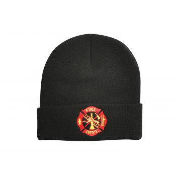 Fire Department Embroidered Watch Cap - Delta Survivalist