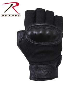 Hard Knuckle Fingerless Gloves