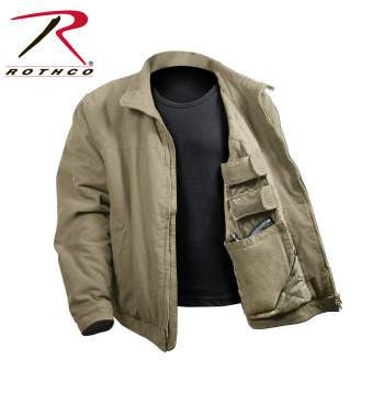 3 Season Concealed Carry Jacket - Delta Survivalist
