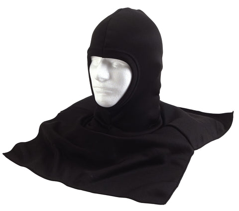Black Polypropylene Balaclava with Dickie - Delta Survivalist
