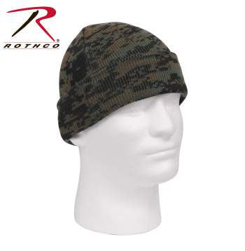 Deluxe Camo Watch Cap - Delta Survivalist