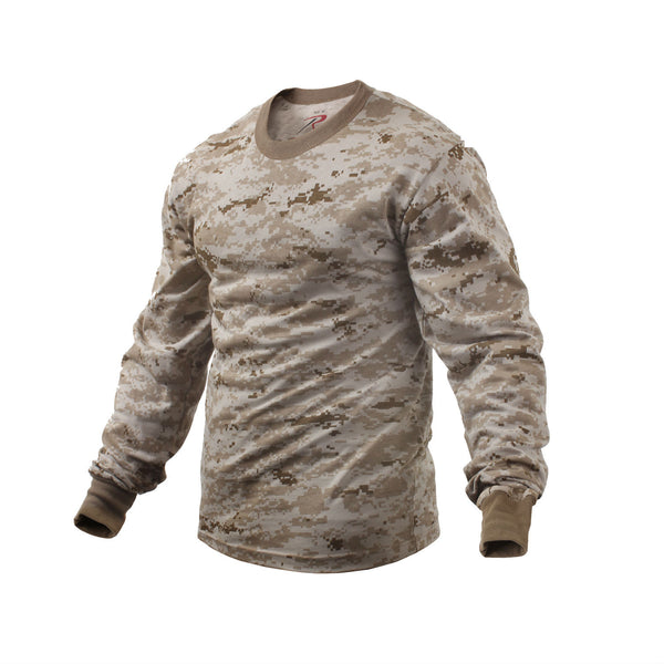 Long-Sleeve Camo T-Shirt - Delta Survivalist