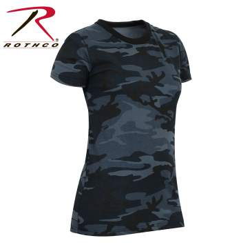 Women's Long Length Camo T-Shirt - Delta Survivalist