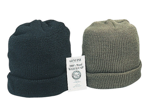 Genuine G.I. Wool Watch Caps - Delta Survivalist