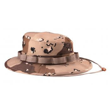 Camo Poly/Cotton Boonie Hat - Delta Survivalist