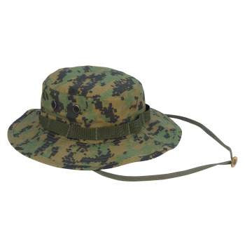 Digital Camo Poly/Cotton Boonie Hat - Delta Survivalist