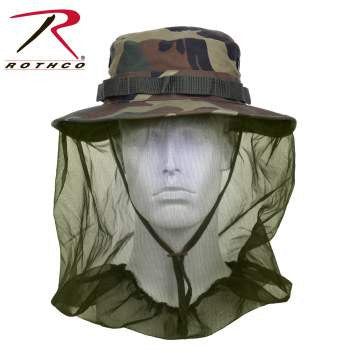 Boonie Hat With Mosquito Netting - Delta Survivalist