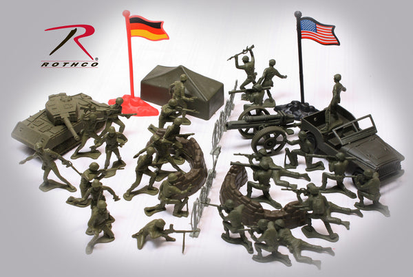 Combat Force Soldier Play Set - Delta Survivalist