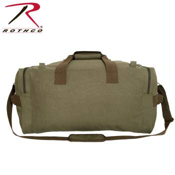 Long Journey Canvas Travel Bag - Olive Drab - Delta Survivalist