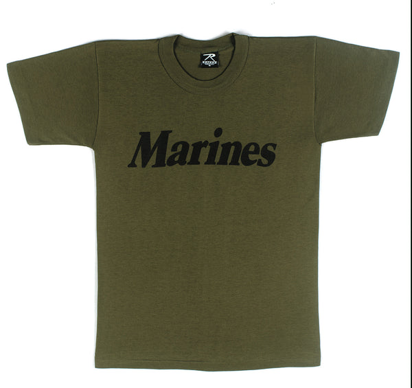 Olive Drab Military Physical Training T-Shirt - Delta Survivalist