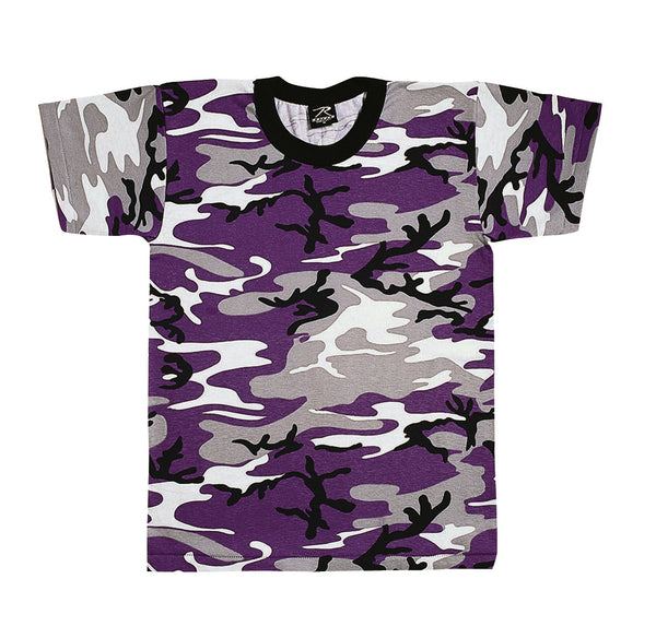 Colored Camo T-Shirt - Delta Survivalist