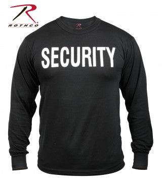2-Sided Security Long Sleeve T-Shirt - Delta Survivalist