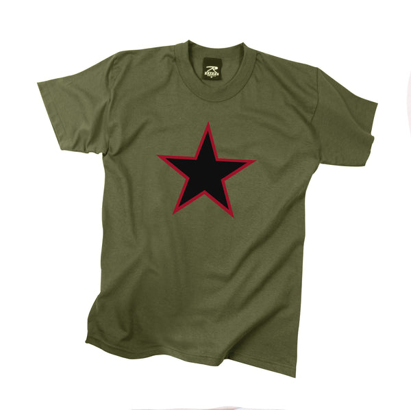 Red China Star T-Shirt