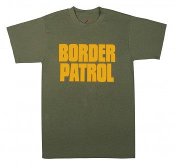 2-Sided Border Patrol T-Shirt - Delta Survivalist