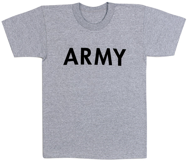 Grey Physical Training T-Shirt - Delta Survivalist