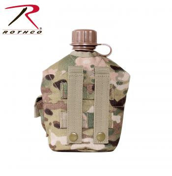 GI Style MOLLE Canteen Cover - Delta Survivalist