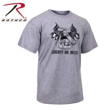 'Liberty or Death' T-Shirt - Delta Survivalist
