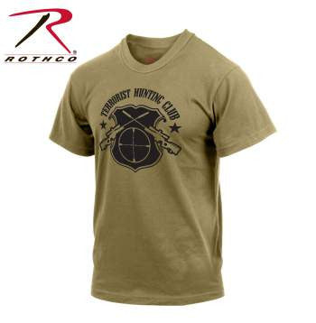 'Terrorist Hunting Club' T-Shirt - Delta Survivalist