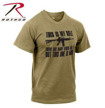 'This Is My Rifle' T-Shirt - Delta Survivalist