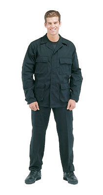 Black SWAT Cloth BDU Shirt - Delta Survivalist