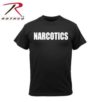2 Sided Narcotics T-shirt