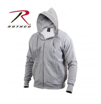 Thermal Lined Hooded Sweatshirt - Delta Survivalist