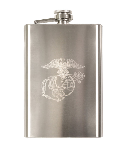 Engraved Stainless Steel Flasks