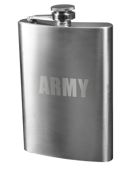 Engraved Stainless Steel Flasks - Delta Survivalist