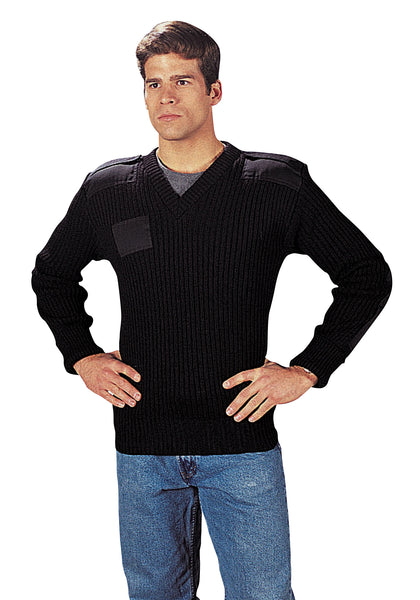 G.I. Type Wool V-Neck Sweater